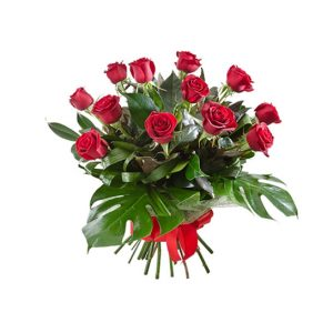 10 roses and oriental lilies - All rose colours available - image bq12-300x300 on http://tranquilblooms.com.au
