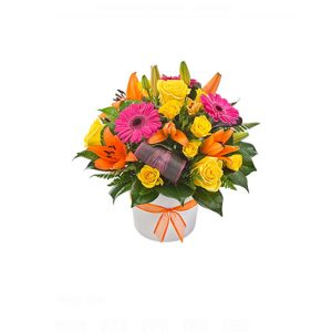 Now & Forever  Box - Arrangement of 12 Long Stemmed Yellow Roses - image viva-300x300 on http://tranquilblooms.com.au
