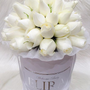 WHITE roses white box - image white-rose-2-180x180 on http://tranquilblooms.com.au