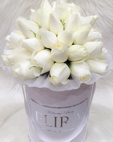 WHITE roses white box - image white-rose-2 on http://tranquilblooms.com.au
