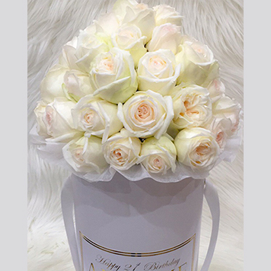 Exquisite Roses White Box - image IMG_13 on http://tranquilblooms.com.au