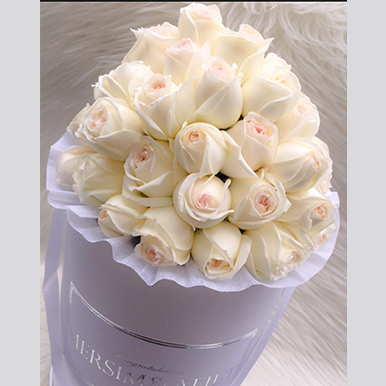 Exquisite Roses White Box - image IMG_14 on http://tranquilblooms.com.au