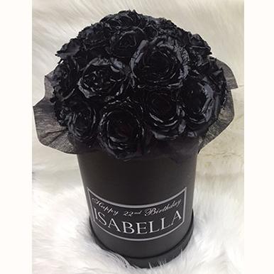 tranquil blooms BLACK VELVET Rose box