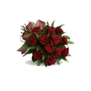 10 roses and oriental lilies - All rose colours available - image bq10-300x300 on https://tranquilblooms.com.au