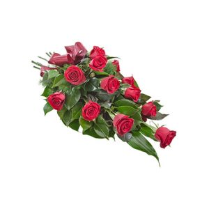 10 roses and oriental lilies - All rose colours available - image bq11-300x300 on https://tranquilblooms.com.au