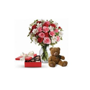 100 red roses All rose colours available - image bq9-300x300 on https://tranquilblooms.com.au