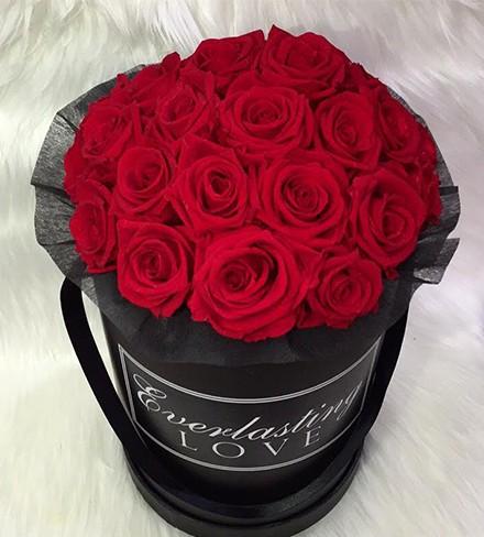 Personalised Rose Box