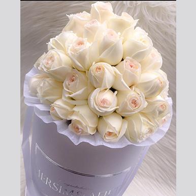 Exquisite Roses White Box - image IMG_14 on https://tranquilblooms.com.au