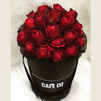 tranquil blooms Red Roses Black Box 2