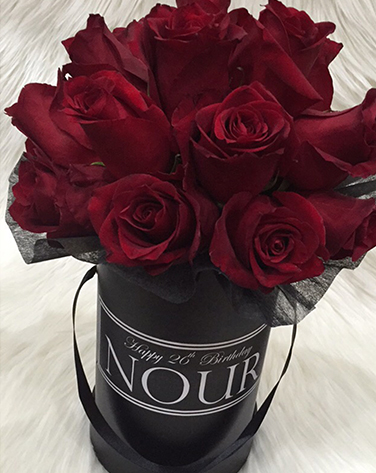 tranquil blooms Red Roses Black Box 4